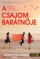 À trois, on y va - Hungarian Movie Poster (xs thumbnail)