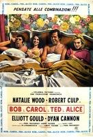 Bob & Carol & Ted & Alice - Italian Movie Poster (xs thumbnail)