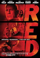 RED - Argentinian Movie Poster (xs thumbnail)