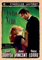Black Angel - Italian DVD movie cover (xs thumbnail)