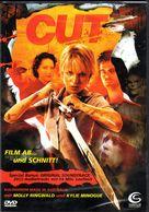 Cut - German DVD movie cover (xs thumbnail)