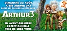 Arthur et la guerre des deux mondes - French Movie Poster (xs thumbnail)