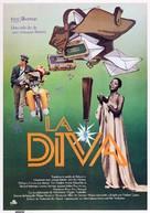 Diva - Spanish Movie Poster (xs thumbnail)