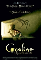 Coraline - Mexican Movie Poster (xs thumbnail)