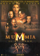 The Mummy Returns - Italian Movie Poster (xs thumbnail)
