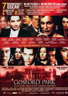 Gosford Park - Spanish Movie Poster (xs thumbnail)