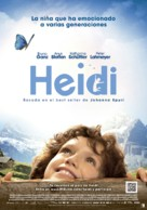 Heidi - Spanish Movie Poster (xs thumbnail)