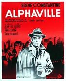 Alphaville, une étrange aventure de Lemmy Caution - Belgian Movie Poster (xs thumbnail)