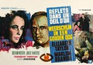 Reflections in a Golden Eye - Belgian Movie Poster (xs thumbnail)