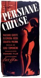 Persiane chiuse - Italian Movie Poster (xs thumbnail)