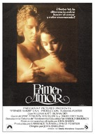 First Love - Spanish Movie Poster (xs thumbnail)
