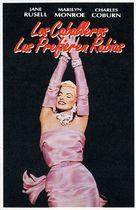 Gentlemen Prefer Blondes - Spanish Movie Cover (xs thumbnail)