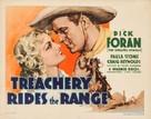 Treachery Rides the Range - Movie Poster (xs thumbnail)