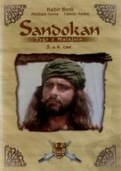 """Sandokan"" - Czech DVD movie cover (xs thumbnail)"