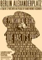 """Berlin Alexanderplatz"" - International Movie Poster (xs thumbnail)"