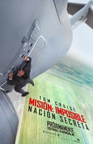 Mission: Impossible - Rogue Nation - Mexican Movie Poster (xs thumbnail)
