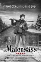 Maiensäss - Swiss Movie Poster (xs thumbnail)
