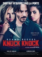 Knock Knock - French Theatrical movie poster (xs thumbnail)
