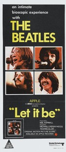 Let It Be - Australian Movie Poster (xs thumbnail)