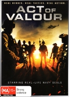 Act of Valor - Australian DVD cover (xs thumbnail)