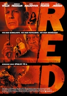 RED - Lithuanian Movie Poster (xs thumbnail)