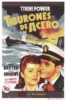 Crash Dive - Spanish Movie Poster (xs thumbnail)