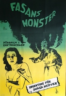 Bijo to Ekitainingen - Swedish Movie Poster (xs thumbnail)