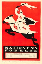 The Birth of a Nation - Swedish Movie Poster (xs thumbnail)