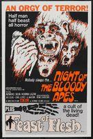 La horripilante bestia humana - Combo movie poster (xs thumbnail)