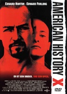 American History X - German DVD movie cover (xs thumbnail)