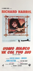 Man in the Wilderness - Italian Movie Poster (xs thumbnail)