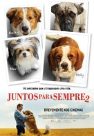A Dog's Journey - Portuguese Movie Poster (xs thumbnail)