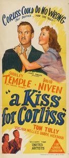 A Kiss for Corliss - Australian Movie Poster (xs thumbnail)