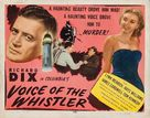 Voice of the Whistler - Movie Poster (xs thumbnail)