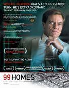 99 Homes - For your consideration movie poster (xs thumbnail)