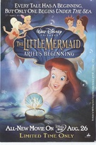 The Little Mermaid: Ariel's Beginning - Video release poster (xs thumbnail)
