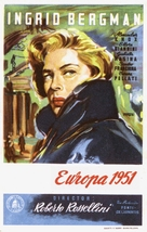 Europa '51 - Spanish Movie Poster (xs thumbnail)
