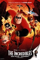 The Incredibles - Movie Poster (xs thumbnail)