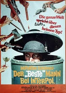 The Pink Panther Strikes Again - German Movie Poster (xs thumbnail)
