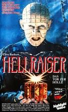 Hellraiser - German VHS movie cover (xs thumbnail)