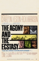 The Agony and the Ecstasy - Movie Poster (xs thumbnail)
