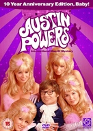 Austin Powers: International Man of Mystery - British DVD cover (xs thumbnail)
