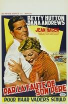 Spring Reunion - Belgian Movie Poster (xs thumbnail)