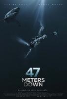 47 Meters Down - British Movie Poster (xs thumbnail)