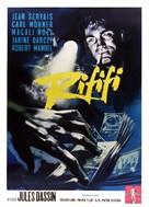 Du rififi chez les hommes - Italian Movie Poster (xs thumbnail)