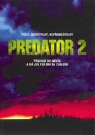 Predator 2 - Czech DVD cover (xs thumbnail)