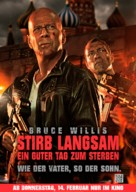 A Good Day to Die Hard - German Movie Poster (xs thumbnail)