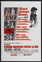 From Russia with Love - Theatrical movie poster (xs thumbnail)