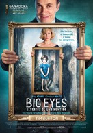 Big Eyes - Colombian Movie Poster (xs thumbnail)