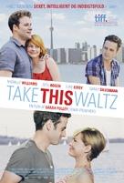 Take This Waltz - Danish Movie Poster (xs thumbnail)
